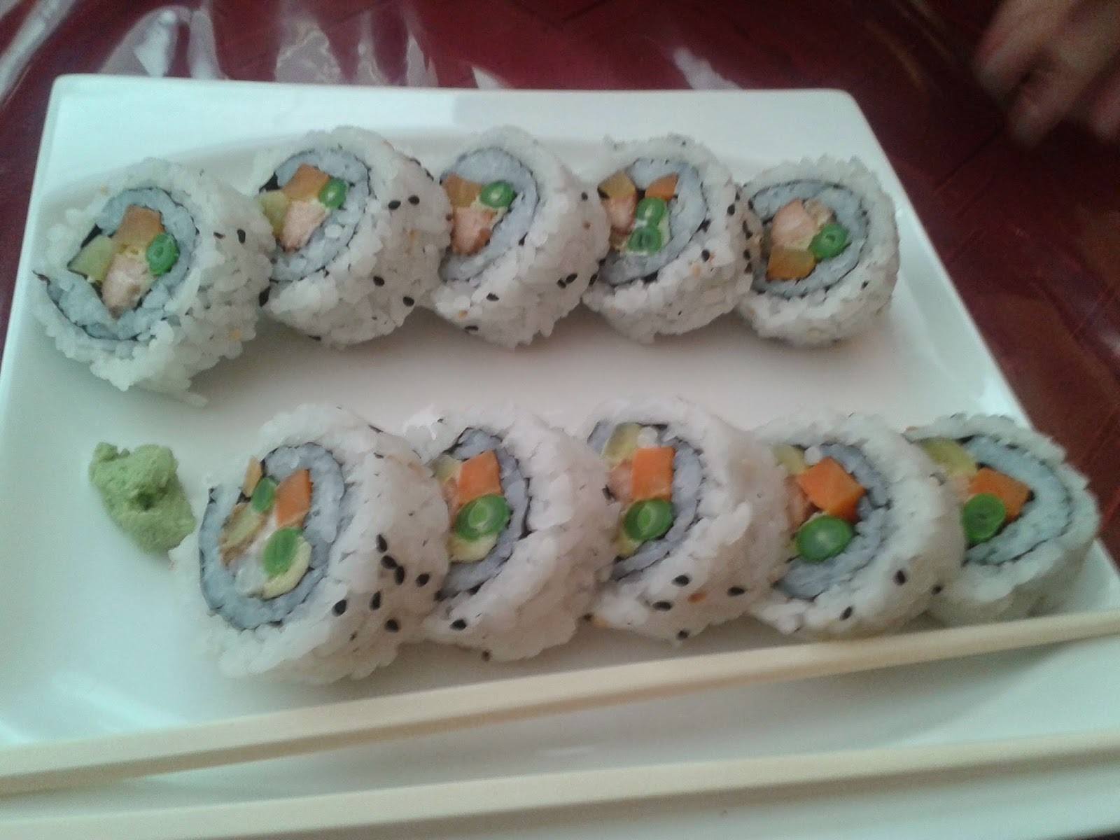 Vegetarian Sushi - Meatless for a Day