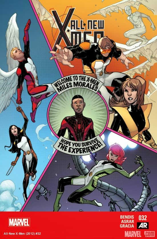 All-New X-Men 32  Miles Morales and the X-Men