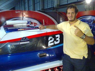 Mangoni se destacó como piloto invitado