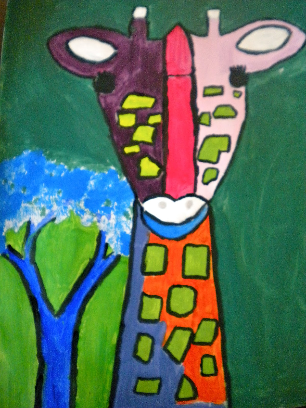 Waitsfield Elementary Art: January 2012