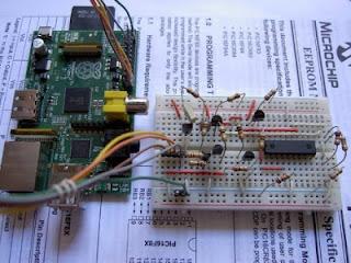 programador de PIC com Raspberry Pi
