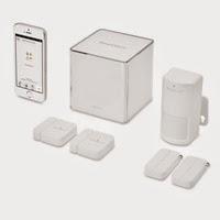 Sistema di sicurezza domestico iSmartAlarm per iPhone, iPad e iPad touch
