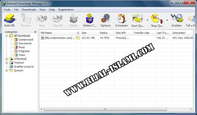 Free Download IDM 6.15 - www.rijal-islami.com