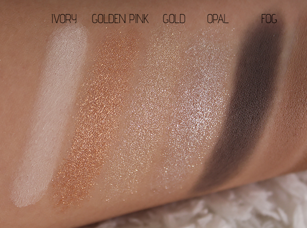 bobbi brown old hollywood palette swatches