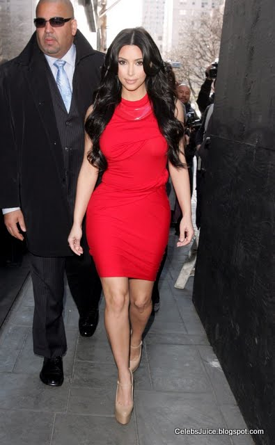 "Kim Kardashian at ""The Wendy Williams Show"" in New York-3"