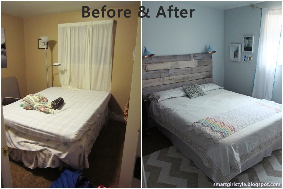 Smartgirlstyle: Bedroom Makeover: Putting It All Together. Now We Will  Share About Decorating Ideas For Small Bedrooms On A Budget