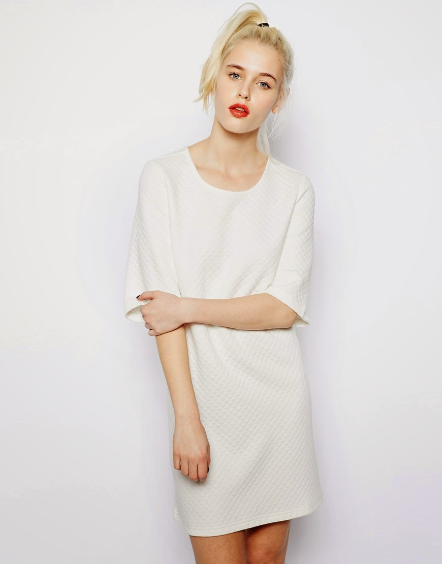 monki white dress