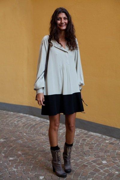 fendi boots on model