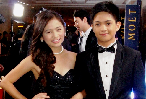 Ella Cruz and Francis Magundayao Date at Star Magic Ball 2012