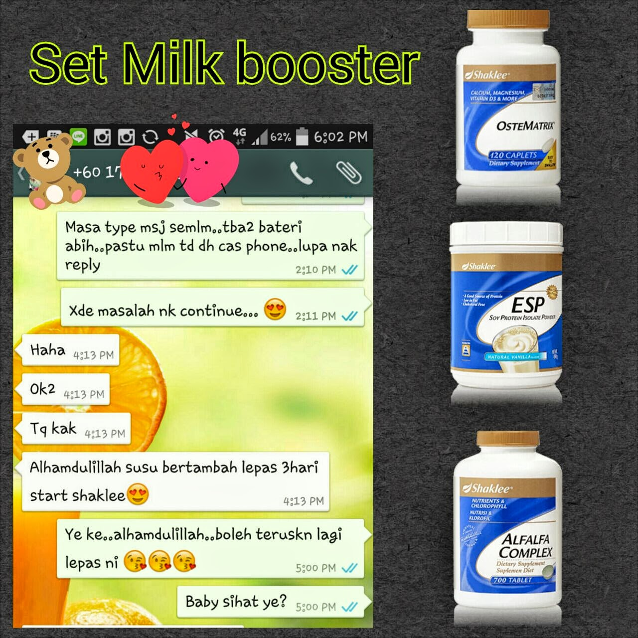 Set Milk Booster
