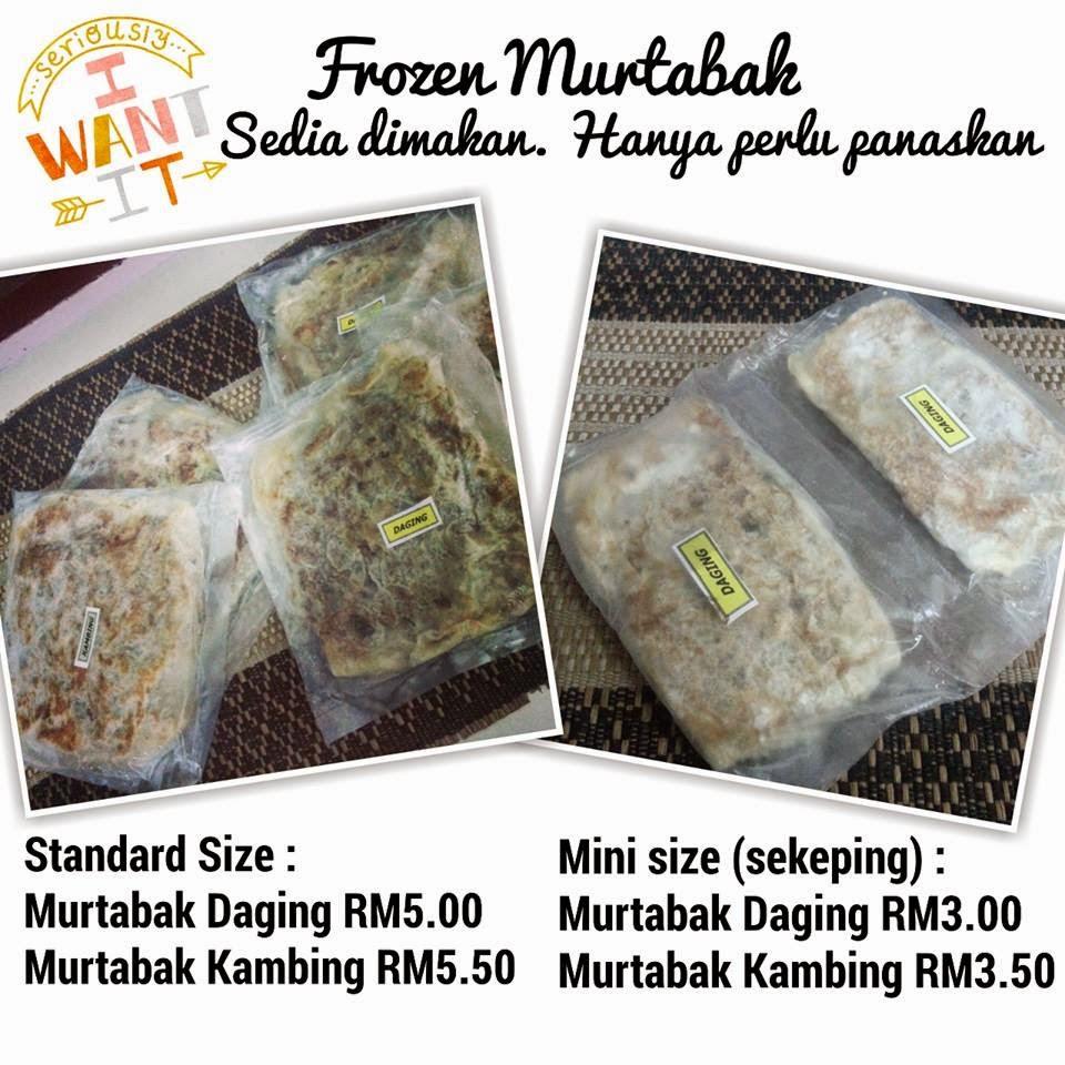 Frozen Murtabak