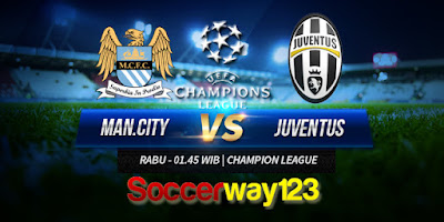 Prediksi Manchester City vs Juventus