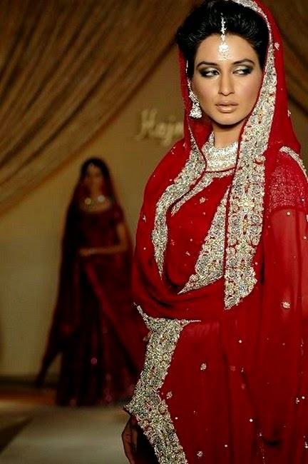 Hajra Hayat Designer Bridal Dress Collection 2014 - For Wedding Day