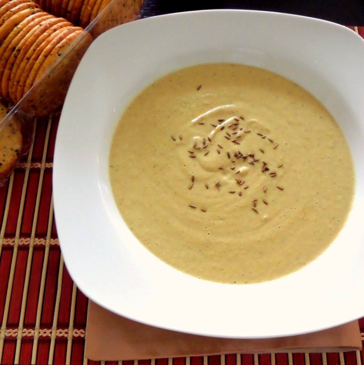 Cauliflower and Chickpea Soup