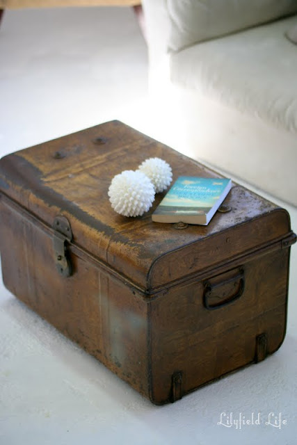 Lilyfield Life Vintage Trunk Coffee Table