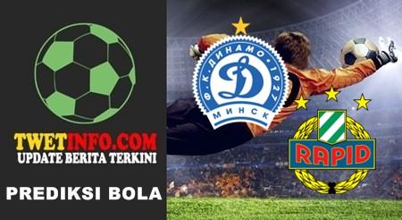 Prediksi Dinamo Minsk vs Rapid Wien