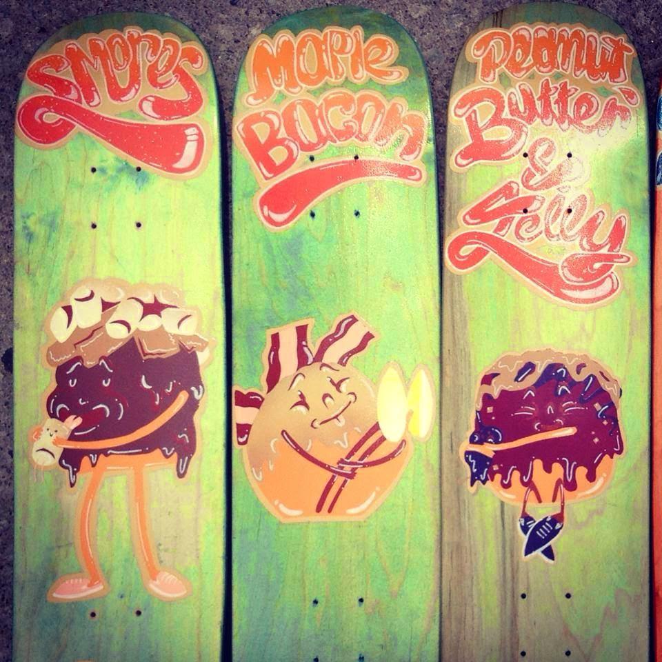 glory hole skateboard