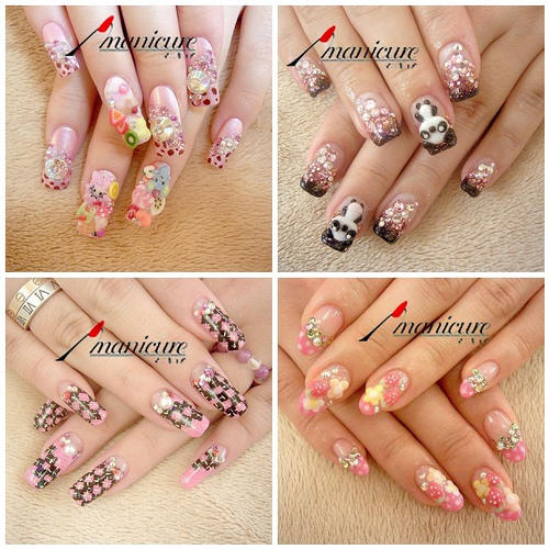The Breathtaking Cute nail art design Image