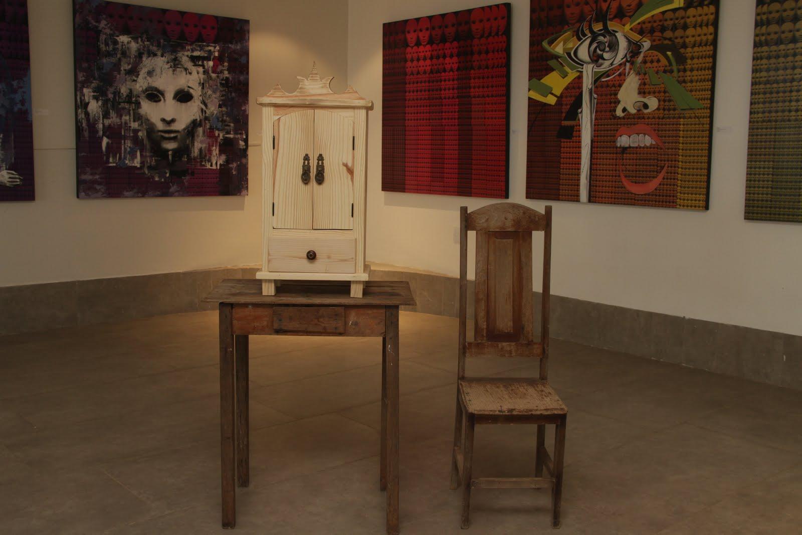 Solange Alves, Objeto de Arte - Feedback (Fechado)