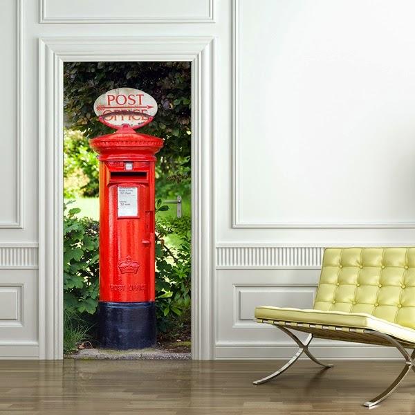 Papel pintado fotomurales para puertas wizard genius - Fotomural para puertas ...