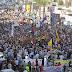 """قتيلان ومظاهرات ضد الانقلاب بمحافظات عدة بجمعة """"الشعب يحمي ثورته"""" (تقرير الجزيرة)"""