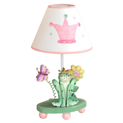 Crown Table Lamp-Princess Frog Collection for kids Photo