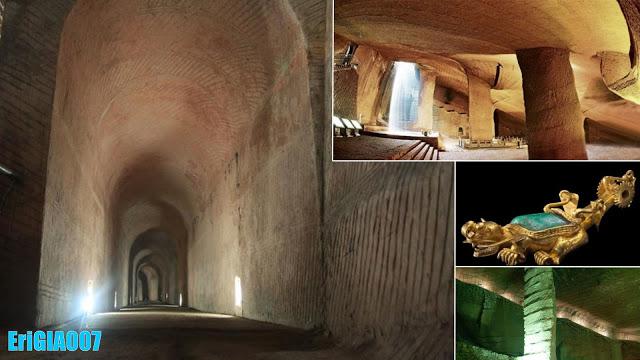 Mystérieuse cave chinois antique
