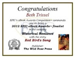 2012 EPPIC EBOOK AWARD FINALIST