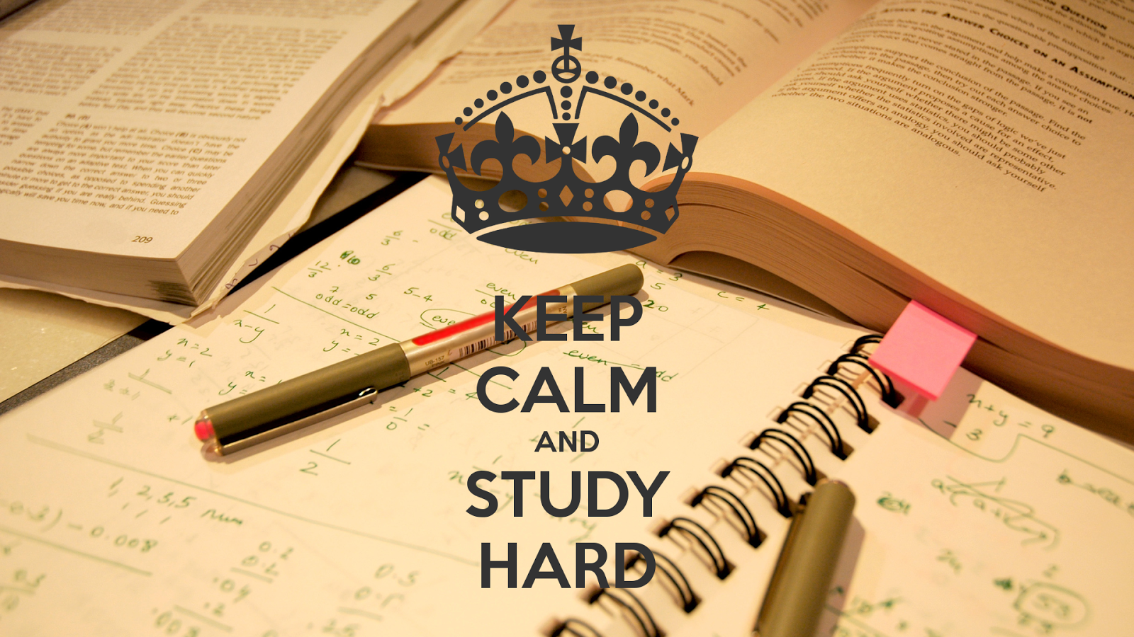 keep calm and study hard 297 - A Background In Critical Factors In bid for papers
