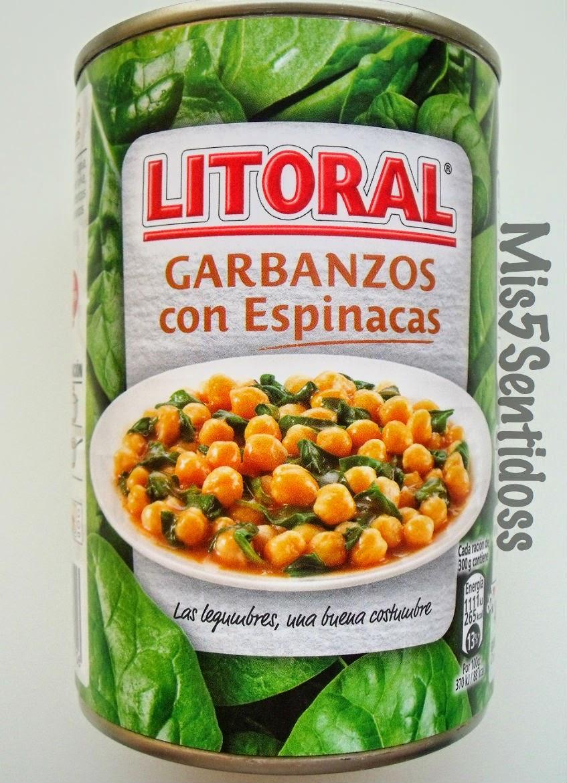 Muestras Premium Marzo 2014 Litoral garbanzos con espinacas