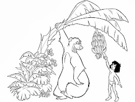 Baloo Jungle Book Coloring Pages