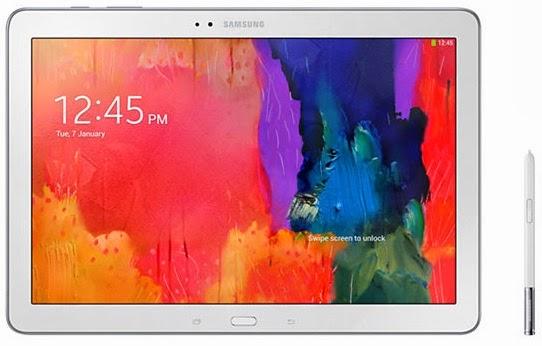 Samsung Galaxy Note Pro 12.2 inch dengan S Pen stylus
