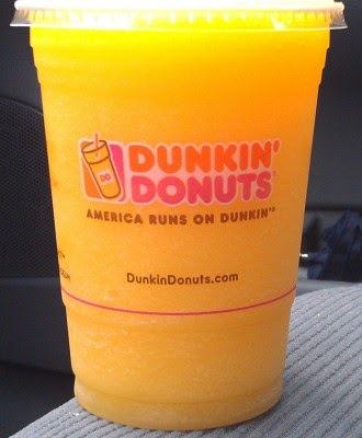 Dunkin' Donuts Cotton Candy iced coolata drink review ...