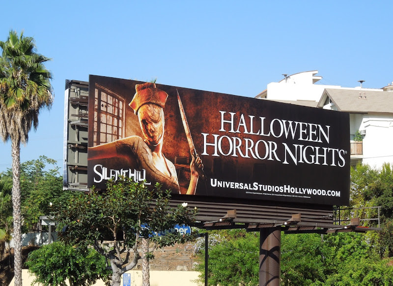 Halloween Horror Nights Universal Studios billboard