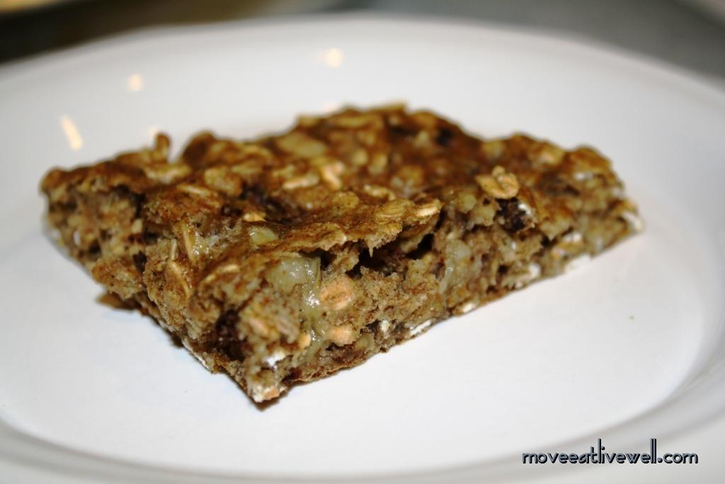 Oatmeal Banana Breakfast Bars Recipe — Dishmaps
