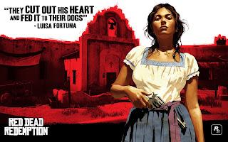 image d'une mexicaine du jeu Red Dead Redemption