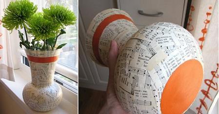 El arte esta en ti una idea para reciclar for Decoracion de jardines con jarrones de barro