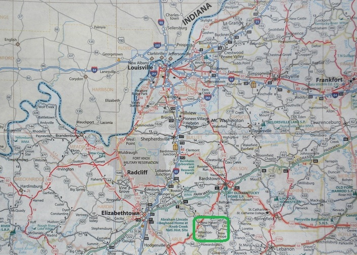 kentucky road map – bnhspine.com