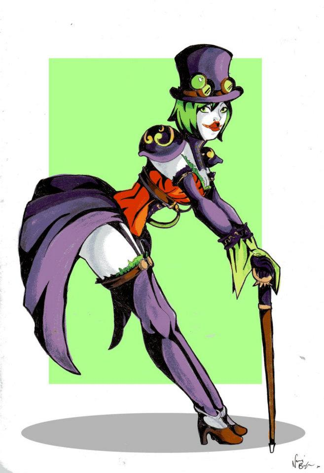 Sketch Paddys Duela Dent