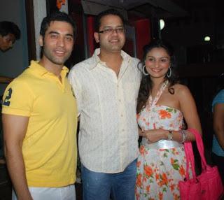 Kushal Punjabi with Rahul & Dimpi Mahajan