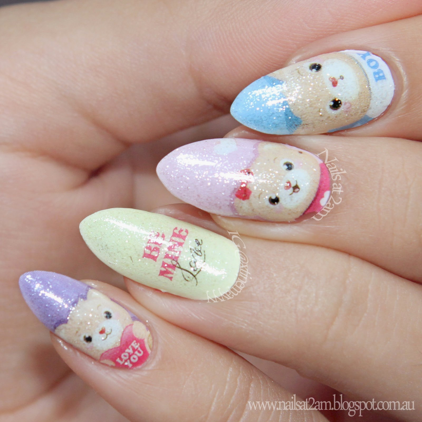 365 Days Of Nail Art March 2014: Born Pretty Store Blog: March Nail Art Designs Show