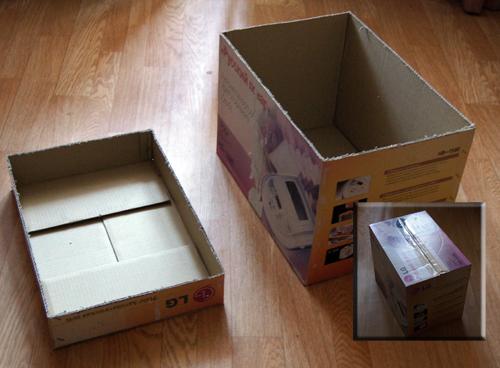 Шарманка из коробки сделать своими руками