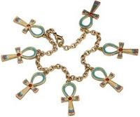 gold ankh bracelet