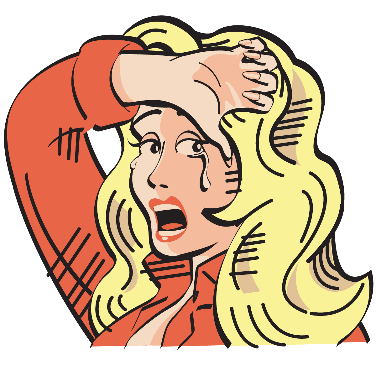 Gallery For > Funny Crying People Clipart