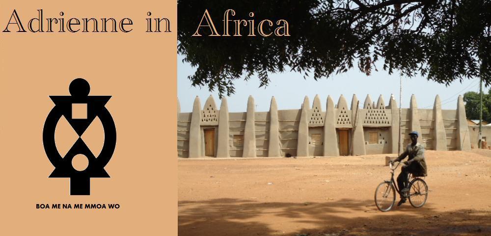 Adrienne in Africa