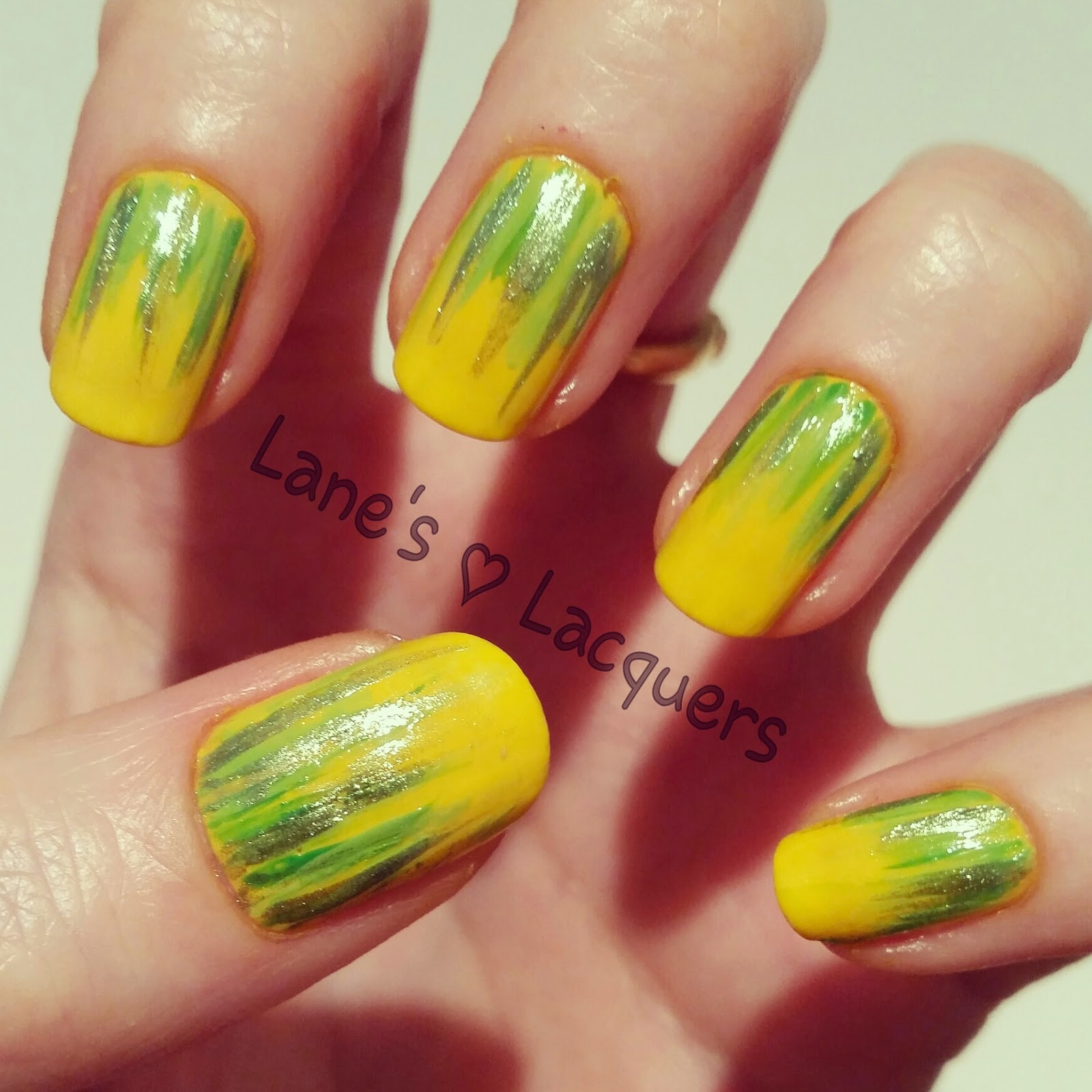 barry-m-yellow-green-waterfall-nail-art