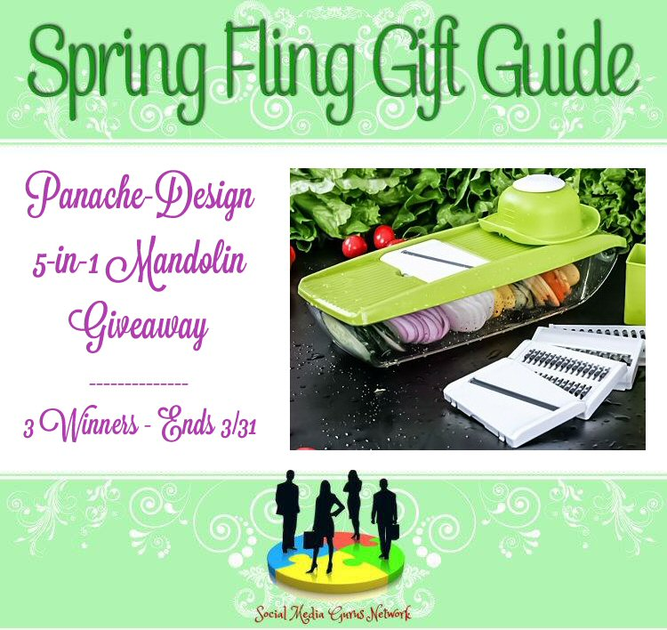 Panache Design 5n1 Mandolin Giveaway