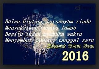 Kata Kata Ucapan Tahun Baru 2016