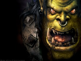 Портрет Орка из WarCraft 3