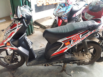 modifikasi honda beat cutting sticker